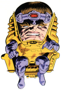 """MODOK: Product of AIM,and perfecter of """"constipation-face""""."""
