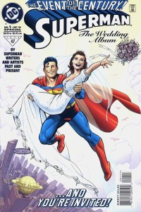"The book was soon followed by ""Superman: The Honeymoon is Over"" and, consequently, ""Superman: I Just Don't Know Who You Are Anymore. I'm Going To Stay At My Sister's Place For A While Until You Figure Out What You Want""."