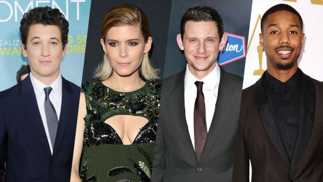 Mr. Fantastic, the Invisible Woman, the Thing, and the Human Torch