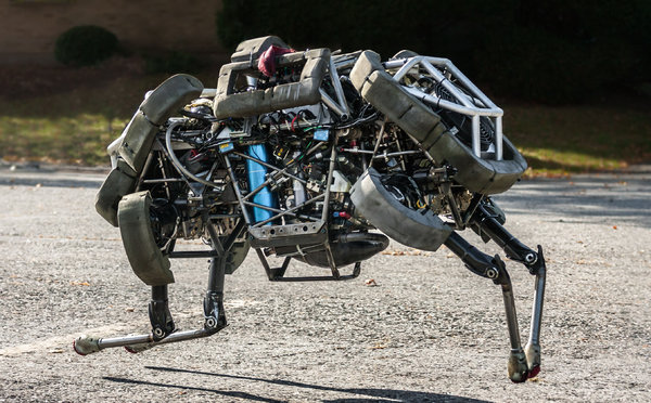 Pictured: Robotic Death Hound