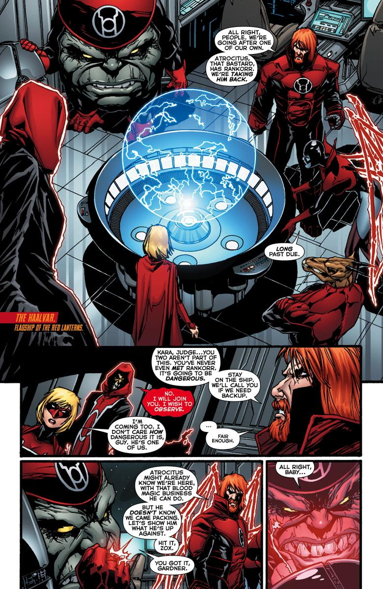Red Lanterns Four Letter Nerd