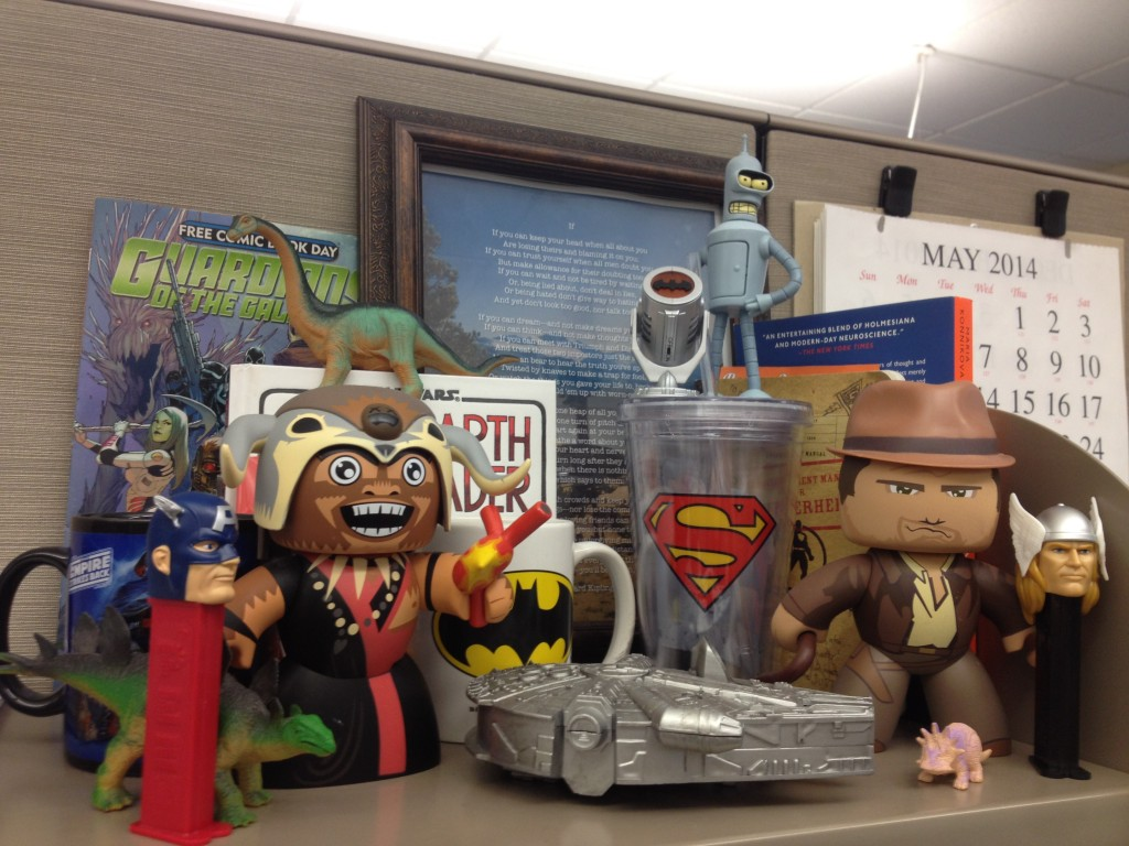 Cubicle decoration guide four letter nerd for Decoration geek