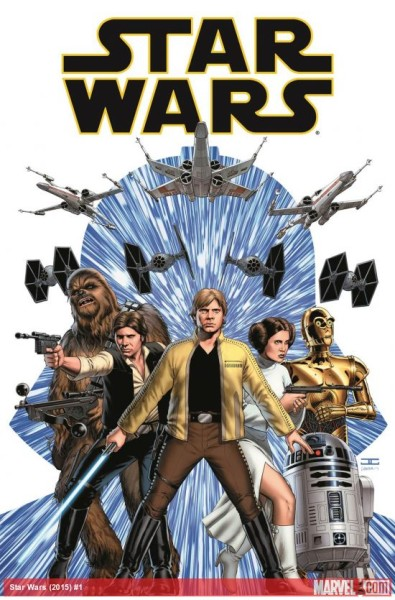 Star Wars #1 by Jason Aaron and John Cassaday