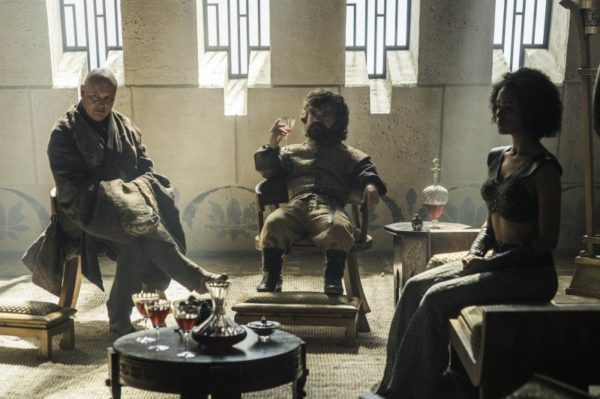 Episode 4 Varys, Tyrion and Missandei
