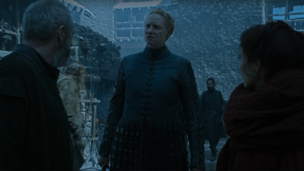 Episode 6 Brienne, Davos, and Melisandre