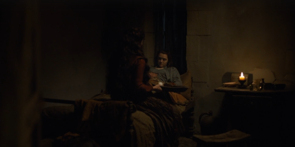 Episode 8 Arya and Lady Crane