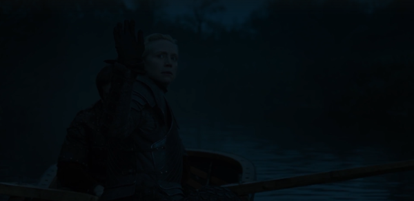 Episode 8 Brienne waves