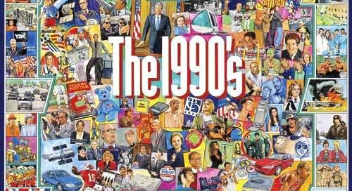 90s shows collage